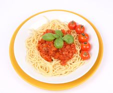 Free Spaghetti Bolognese Royalty Free Stock Image - 16177606