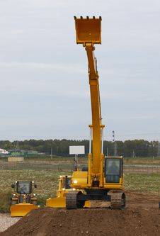 Free Excavator Stock Photos - 16177833