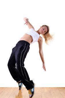 Woman Sport Dancer Royalty Free Stock Photos