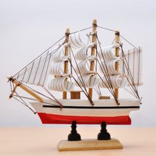 Free Model Of Ship Stock Photo - 16178120