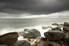 Free Dramatic Rough Coastline Stock Photography - 16178512