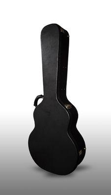 Free Black Guitar Case Royalty Free Stock Photo - 16179285