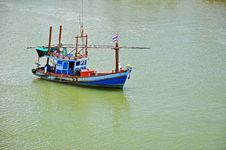 Free Thai Fishing Boat Stock Photography - 16179692