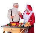 Free Approving Santa S Work Royalty Free Stock Photos - 16184938