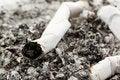 Free Cigarette Ash Macro Royalty Free Stock Photos - 16187268