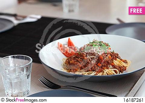 Free Spaghetti Stock Image - 16187261