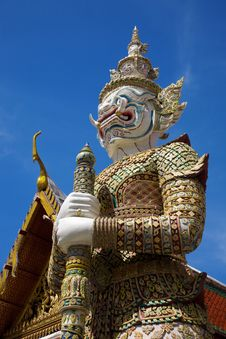 Free Thai Giant Royalty Free Stock Photography - 16180147
