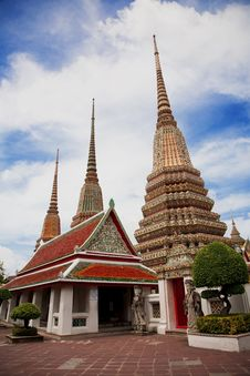 Free Wat Po Thailand Stock Photo - 16180240