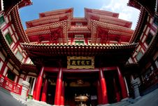 Free Budha Tooth Relic Temple Royalty Free Stock Photo - 16180545