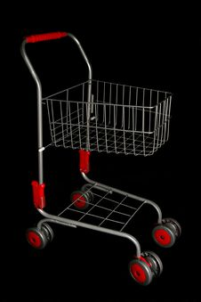 Free Shopping Trolley Royalty Free Stock Photo - 16180655