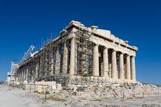 Free Parthenon Temple,  Athens, Greece Stock Photos - 16181183