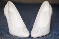 Free Shoes For The Bride Stock Photo - 16181590