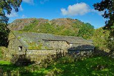 Yew Tree Farm Barn Stock Image