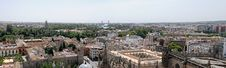 Free Panoramicl Of Seville Stock Photography - 16182082