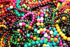 Free Wooden Beads Royalty Free Stock Photos - 16182808