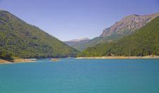 Free Blue Lake In Mountains Royalty Free Stock Image - 16182876
