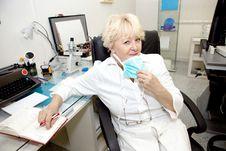 Female Medical Professional Stock Photography