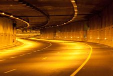 Free Highway At Night Stock Image - 16183281
