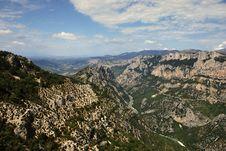 Free Verdon Canyon Royalty Free Stock Images - 16183389