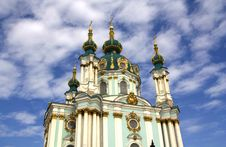 Free St. Andrew S Church In Kyiv, Ukraine Royalty Free Stock Photos - 16183818
