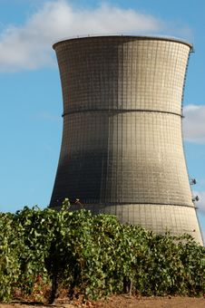 Abandoned Nuclear Power Plant Stock Photos