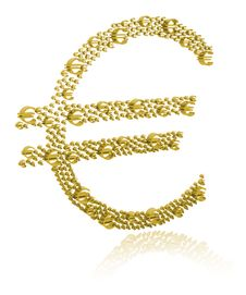 Free 3D Illustration Of Euro Stock Images - 16184764