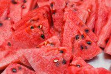 Free Chopped Watermelon Stock Photo - 16184990