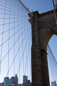 Free Brooklyn Bridge Stock Photography - 16185332