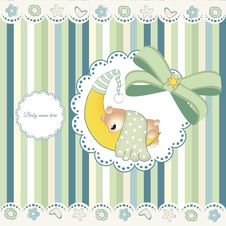 Free Birth Announcement Stock Image - 16186061