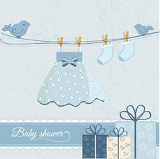 Free Baby Shower Royalty Free Stock Photos - 16186098