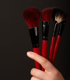 Free Brushes Stock Photo - 16186270