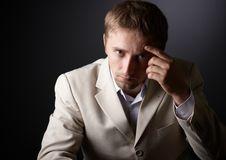 Free Worried Man Royalty Free Stock Image - 16186336