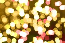 Free Abstract Background Of Holiday Glittering Lights Stock Photography - 16186422