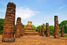 Free Sukhothai Historical Park Stock Images - 16186514