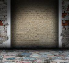 Free Mosaic Grunge Interior Stock Photos - 16186583