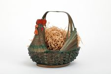Free Chicken Basket Royalty Free Stock Image - 16186656