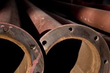 Free Rusted Pipes Royalty Free Stock Image - 16186906