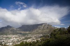 Free Table Mountain Stock Photo - 16186910