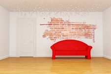 Free Living Room Royalty Free Stock Image - 16187406