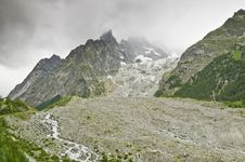 Free Massif Of Mont-Blanc Royalty Free Stock Photos - 16187498
