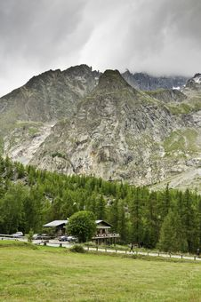 Free Massif Of Mont-Blanc Stock Photography - 16187672