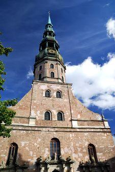 Saint Peter S Church In Riga, Latvia Stock Photography