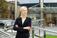 Free Young Attractive Business Woman Royalty Free Stock Photo - 16188095