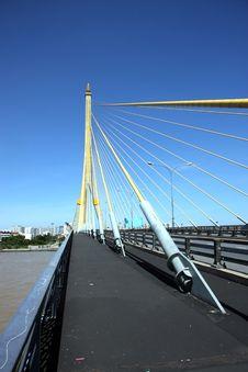 Rama 8 Bridge Royalty Free Stock Image