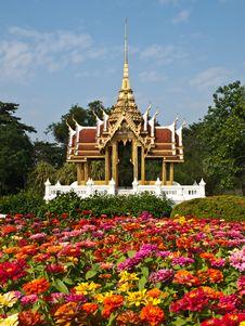 Free Thai Art In The Garden Stock Photos - 16188783