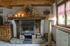 Free Interior Of A Cabin Royalty Free Stock Photos - 16189318