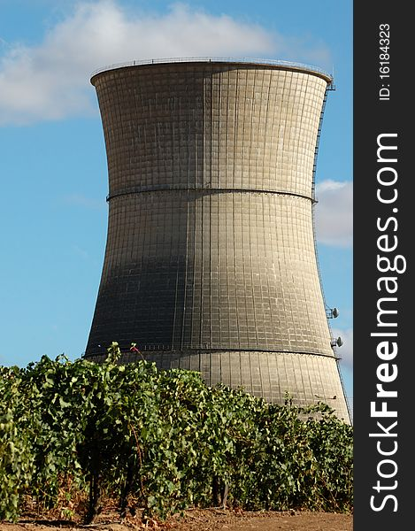 Abandoned Nuclear Power Plant