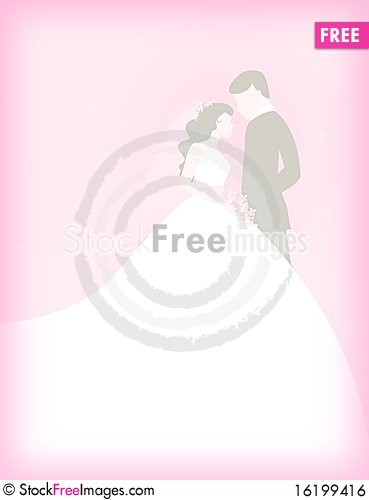Free Couple With Pink Background Royalty Free Stock Image - 16199416