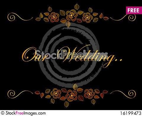 Free Wedding Invitation Stock Photos - 16199473