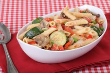 Free Penne Pasta Meal Stock Images - 16190174